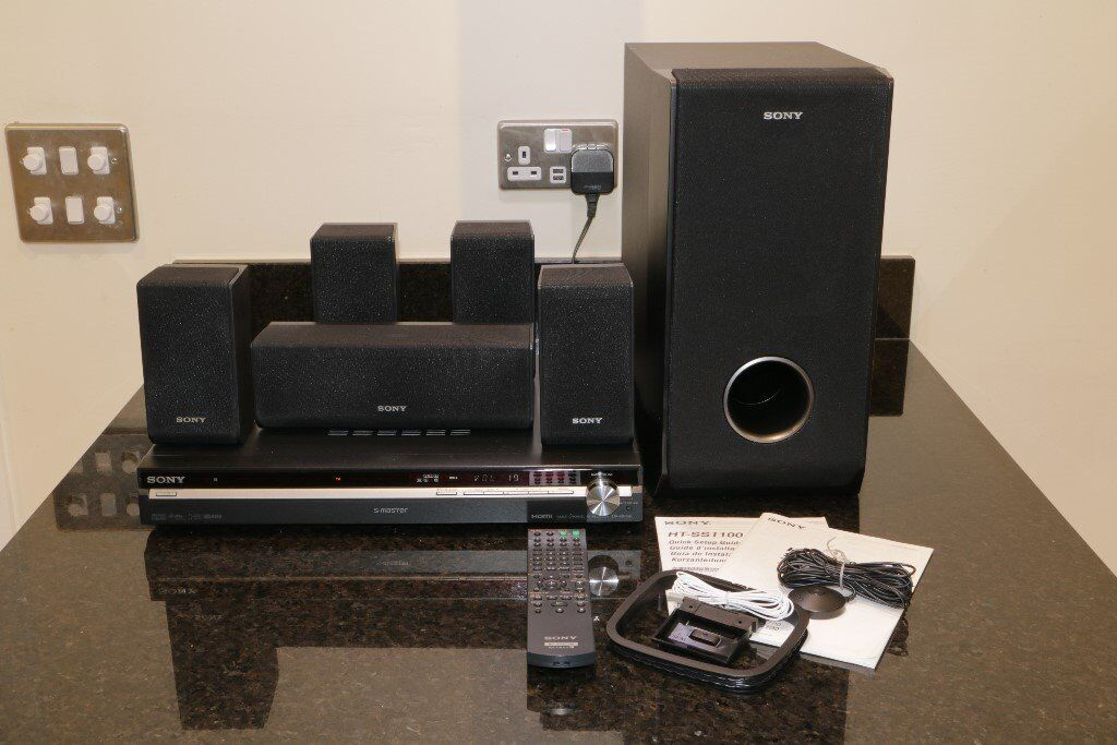 sony ht ss1100 home theatre system 5 1 dolby pro logic. Black Bedroom Furniture Sets. Home Design Ideas