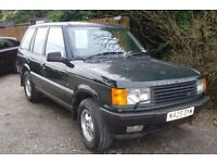 Range Rover for spares or repairs.1996 p-reg, 142000 miles