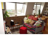 Penthouse one bedroom flat in sought after warehouse conversion in Peckham