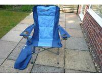 Hi Gear Nebraska camping/fishing chair x2