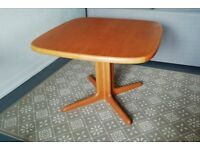 SKOVBY Danish extending dining table vintage 1970s