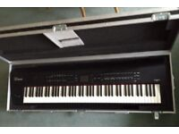 ROLAND RD800 88-Note Stage Piano With Wheeled Flightcase * Mint * Little Used