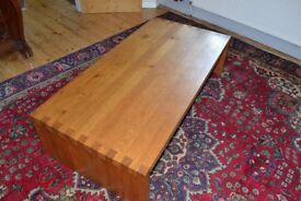 Heals solid oak coffee table