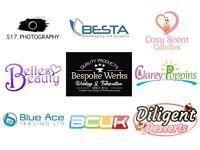 £5.49 Logo, Banner, Poster, Flyer, Letterhead, Business Card, Website Design & Development Services