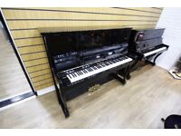 Marshall Upright Black Piano at Sherwood Phoenix Pianos