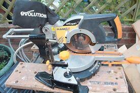 Evolution Multipurpose Mitre Saw 255 mm - 110 V