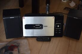 SILVER CREST CD/USB/SD/RADIO/AUX IN/REMOTE CAN BE SEEN WORKING
