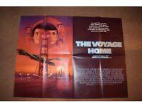 Original 1986 Star Trek IV the Voyage Home UK Quad Poster