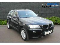 🔷🔹 Feb 2011 BMW X3 xDrive20d SE 5dr Step Auto🔹🔷