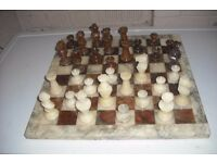 ONYX complete chess board. NEW LOWER PRICE