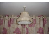 Lampshade and matching table lamp