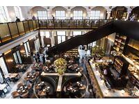 Receptionist / Host / Hostess - German Gymnasium - Kings Cross - Fine-dining Restaurant - £9 ph