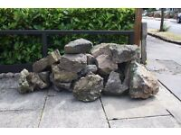 Free - Weathered rockery stones