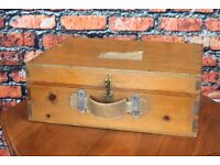 Adorable Solid Wood Trunk Steamer
