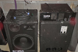 Band or DJ public adress / sound reinforcement system