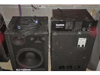 Band or DJ public adress / sound reinforcement system