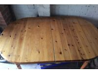 Pine Table - free to collect - this week only (Purley)