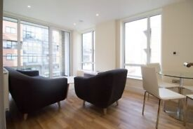 Modern 2bed 2bath apartment with terrace and river views - close to Canary Wharf and Westferry DLR