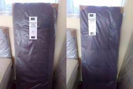 NEW Myer Adams King Size Headboards. In Purple or Brown