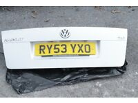 VW Volkswagen Passat B5.5 trunk boot lid + Trunk Lining Right and left + gasket