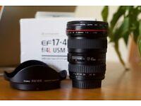 Canon 17-40mm f/4L USM Lens