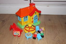 Little Tikes School House , Fisher Price Little People Noah's Ark