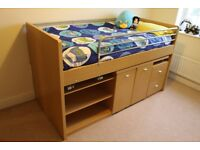 Dreams Hampshire Cabin Bed in great condition with lots of storage