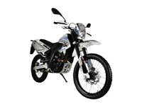 NEW MOTORINI SMR ENDURO, 125CC MOTORCYCLE, £11.17 PER WEEK