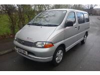 2003 Toyota Hiace VERSA 2.4 DIESEL, MOBILITY, WHEEL CHAIR LIFT, WHEEL CHAIR ACCESSIBLE,