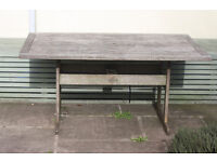 Australian wood garden table - water resistant