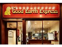 The Good Earth' Express Chinese takeaways looking for Counters / Packers in Richmond and Wimbledon