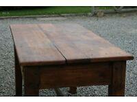 Beautiful pine dining table