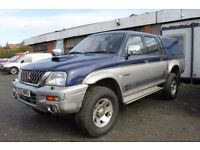 MITSUBISHI L-200 ANIMAL – DOUBLE CAB 4 X 4 PICK UP – 52 REG