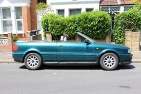 Audi 80 Convertible 2.6 1994 - good condition low miles and owners