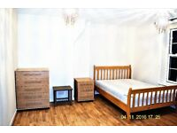 A Fantastic double room in a newly renovated flat. All bills Inc.