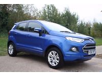 2015 Ford Ecosport ZETEC 1.5 LOW MILEAGE, IMMACULATE CONDITION, FSH, 2 KEYS, WARRANTY, PX WELCOME
