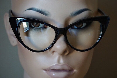 Fashion Design Clear Lens Black Cat Eye Frame Women Eyeglasses  Nikita Eyewear @