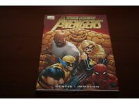 The New Avengers Hard Back Comic Book Premiere Edition 1