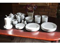 Wood and Sons Fine English Tableware - 52 Pieces - Manufactured in Stoke-on-Trent, England
