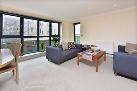 CANAL BOULEVARD, NW1: 2 DOUBLE BEDROOMS, 2 BATHROOMS, WALK IN WARDROBE, 2 BALCONIES, PRIVATE ROAD