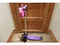 GIRLS MICRO SCOOTER 6/12 yrs GOOD CONDITION