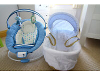Moses Basket Mamas and Papas in excellent condition