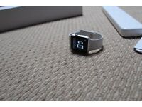 Apple Watch Series 1 42mm Aliminum with white sports band . Never worn Perfect condition
