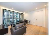 Modern 2 Bed 2 Bath Apartment in King's Cross, Rooftop Winter Garden, Fitness Suite, Concierge- VZ