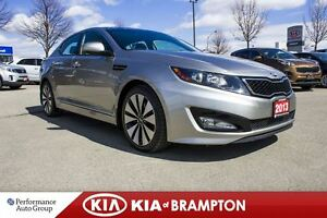 2013 Kia Optima SX TURBO|NAVI|LEATHER|ROOF|BACKUP CAM