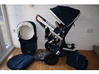 Joolz Day Earth Edition blue Parrot pram and pushchair CAN POST
