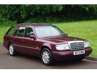 1995/N reg.. LHD. Left Hand Drive. Mercedes E320 Estate.. 7 Seats.. Auto.. 1 Owner..