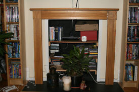 Pine Fireplace Surround