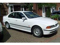 1997 P-reg BMW 520i 2-litre White Manual Petrol Pristine Condition