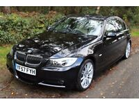 BMW 3 SERIES 3.0 330i M Sport 4dr IMMACULATE, LOW MILES, NAV, LEATHER, HEATED SEATS, FSH.